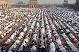 On Eid-Ul-Fitr Paryer and Eidgah