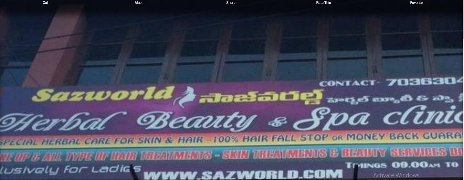 sazworld Herbal Beauty Clinic