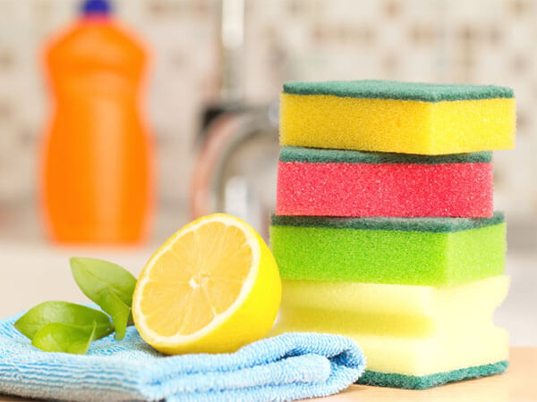Change your Dish Sponges to Prevent Food Poisoning
