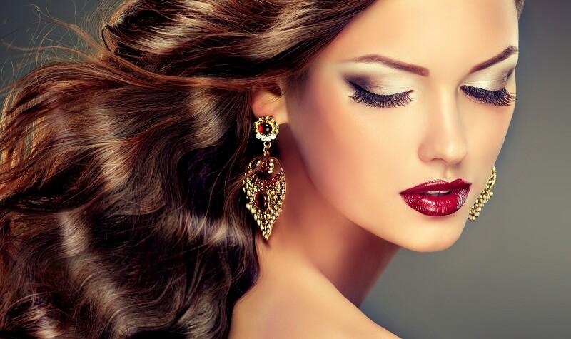 Beautiful Glowing Skin and Hair