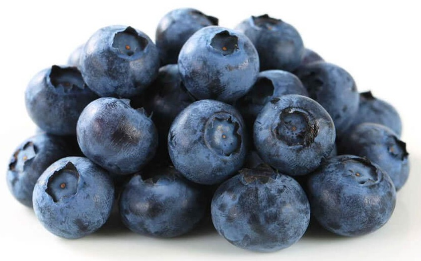 Blueberries anti-aging food