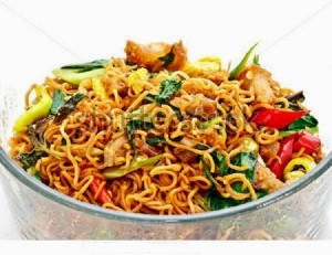Spicy Noodles Vegetable Biryani and Chicken or Mutton Noodles Biryani