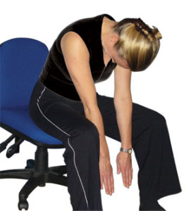 Top Tips and Exercise for Waist Stress, Complete Rest, Spinal Pain Relief, Weight Loss & to Improve Health at Work-Office Health-3