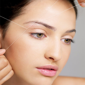 Herbal Beautician Course-Threading Eyebrows-Upperlips-Sideblocks
