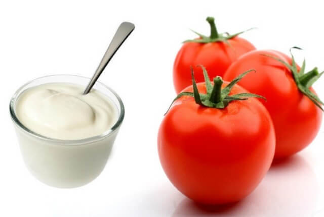 Tomato and Yogurt