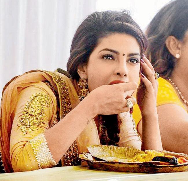 Priyanka's diet plan