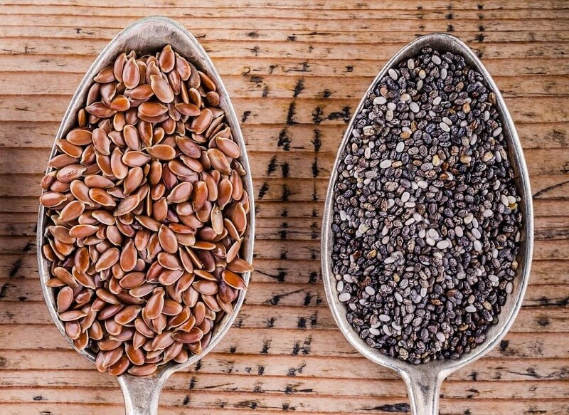 Flaxseeds and Chia