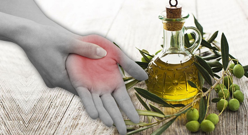 Olive oil Treat Rheumatoid Arthritis