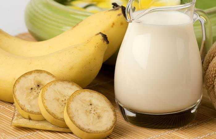 Hair Mask with Banana And Milk