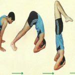 Sirasana Yoga perfect Steps
