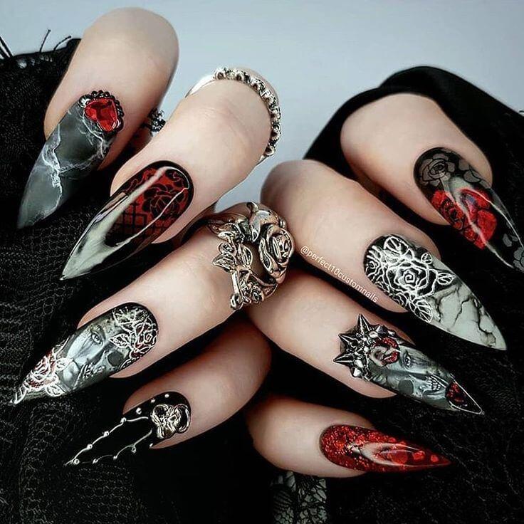 Fashionable Manicure