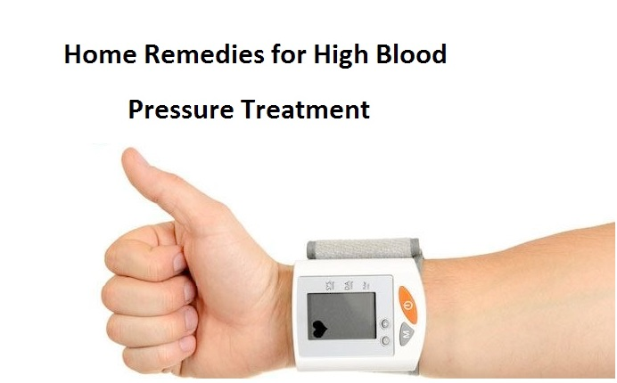 Home Remedies for High Blood Pressure Treatment